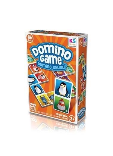KS Puzzle KS Puzzle DG805 Okul Öncesi Domino Oyunu 28 ParÇa Renkli